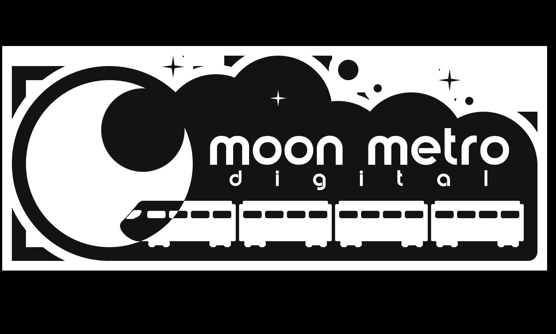 Moon Metro Digital Mini Logo